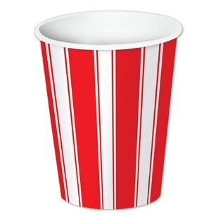Circus Stripe Paper Disposable Cup