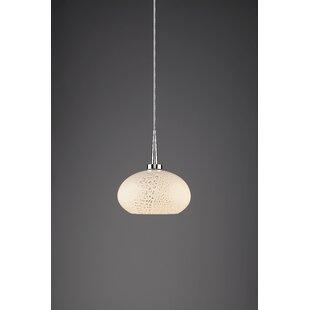 Bruck Lighting Laguna 1-Light Globe Pendant