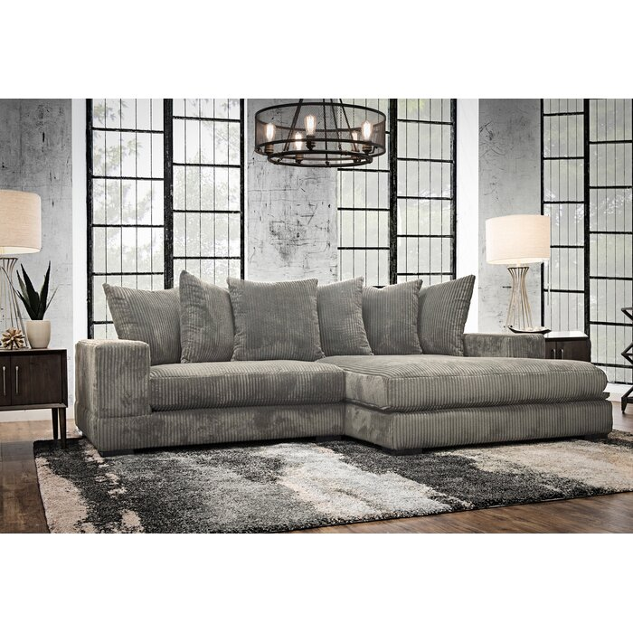 Superb Luxe Right Hand Facing Sectional Dailytribune Chair Design For Home Dailytribuneorg
