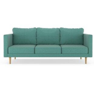 Brayden Studio Rocio Linen Weave Sofa