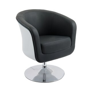 Deckert Swivel Barrel Chair