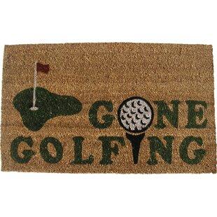 Ordinaire Gone Golfing Door Mat