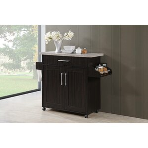 Aaronsburg Kitchen Island by Charlton Home Sale