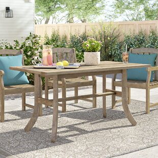 Manchester Extendable Solid Wood Dining Table by Sol 72 Outdoor