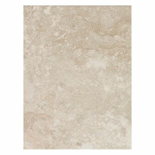 Huston 9 inch  x 12 inch  Ceramic Field Tile in Serene White