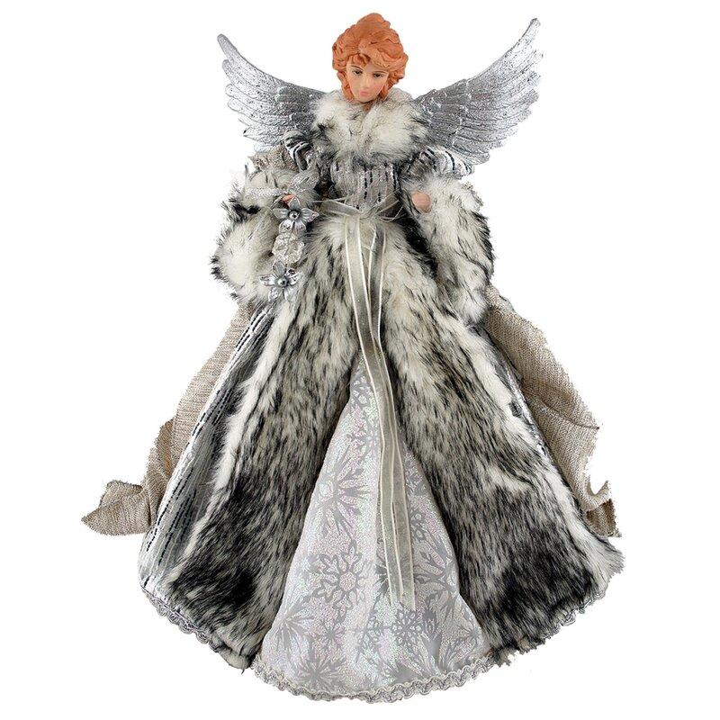 Cat Angel Christmas Tree Topper: Astoria Grand Siberian Snow Angel Tree Topper & Reviews