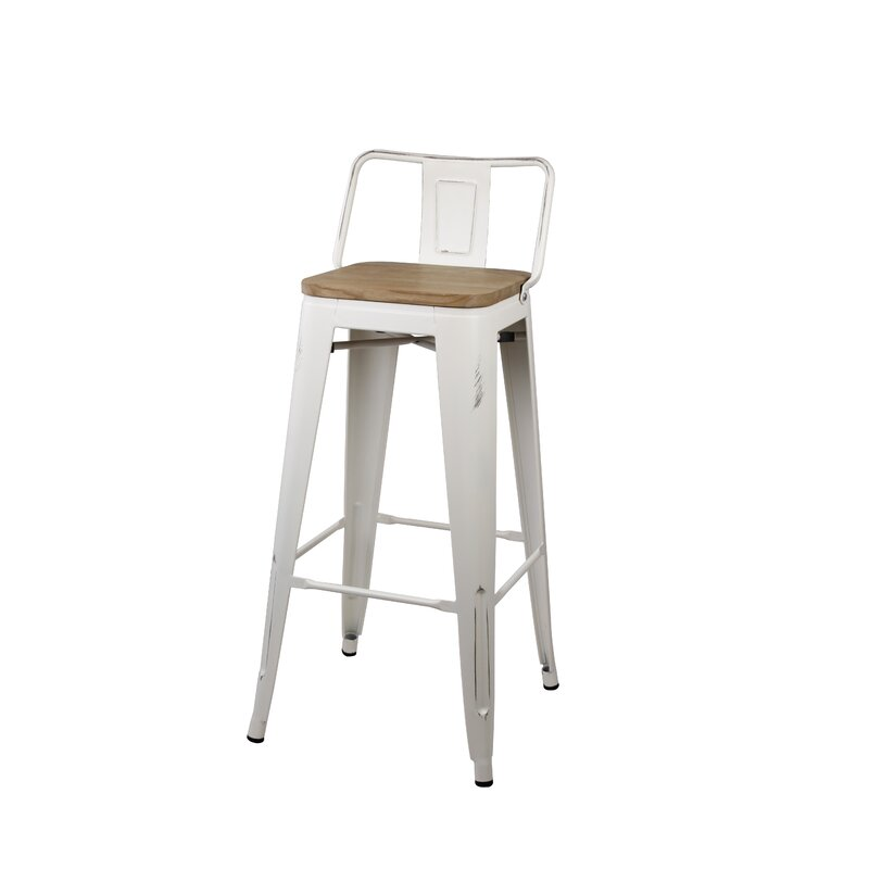 Pleasant White Bar Stools Counter Height Stools Bar Stool Shops Com Pdpeps Interior Chair Design Pdpepsorg