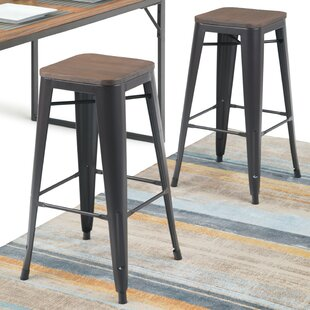 Key 29 Bar Stool (Set of 2) Williston Forge
