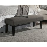Alongi Upholstered Bench by Darby Home Co