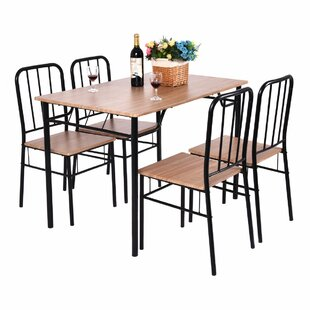 Conover 5 Piece Dining Set Ebern Designs