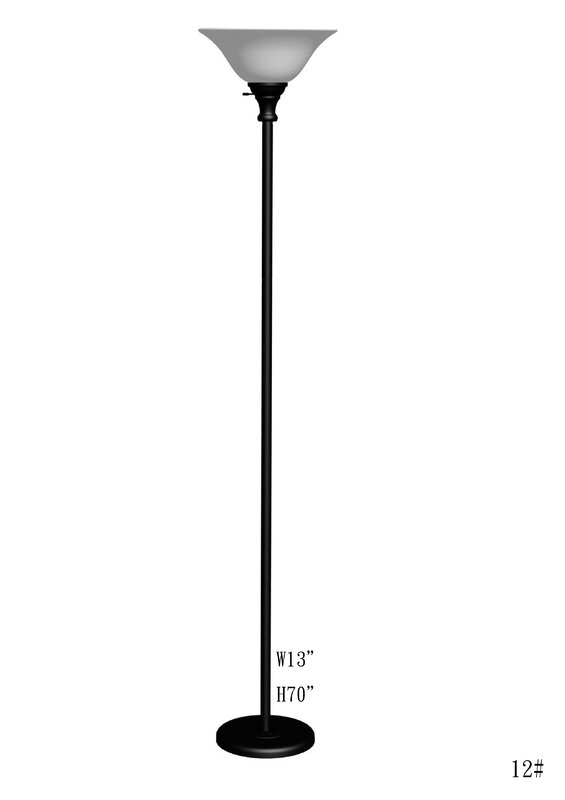 Elyse 70 torchiere floor lamp