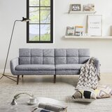 Dickens Twin or Smaller 71.6 Biscuit Back Convertible Sofa by Corrigan Studio®