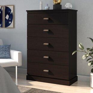 Gloria 5 Drawer Dresser by..