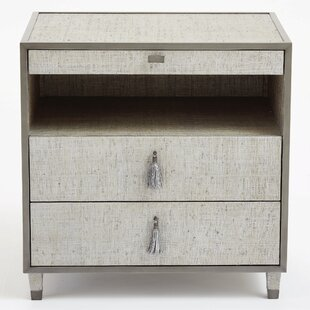 Argento 2 Drawer Nightstand by Global Views