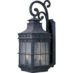 Loon Peak Harbiye 3-Light Outdoor Wall Lantern