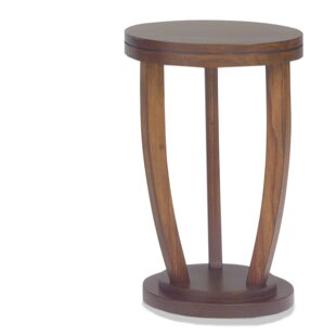 Chamorro Round Stand End Table by Winston Porter