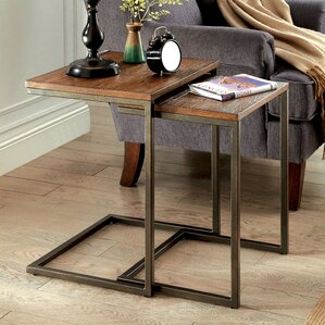 Brayden Studio Mcewan 2 Piece Nesting Tables (Set of 2)