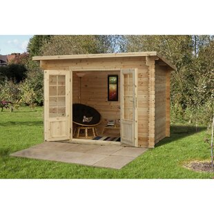 10 X 6.5 Ft. Tongue & Groove Log Cabin Image