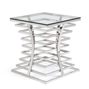 Coomer End Table by Orren Ellis
