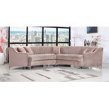 Kempst 142.5 Symmetrical Sectional by Everly Quinn