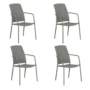 Marx Stacking Garden Chair (Set Of 4) By Sol 72 Outdoor
