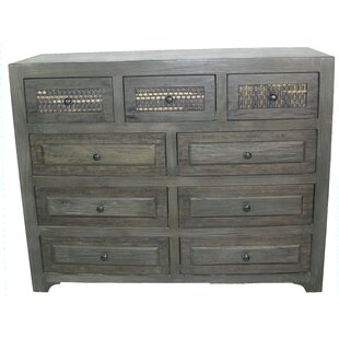 Breakwater Bay Goodwater 9 Drawer Dresser