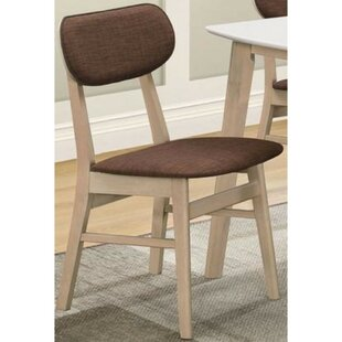 Macedonia Upholstered Dining Chair (Set of 2) Wrought Studio