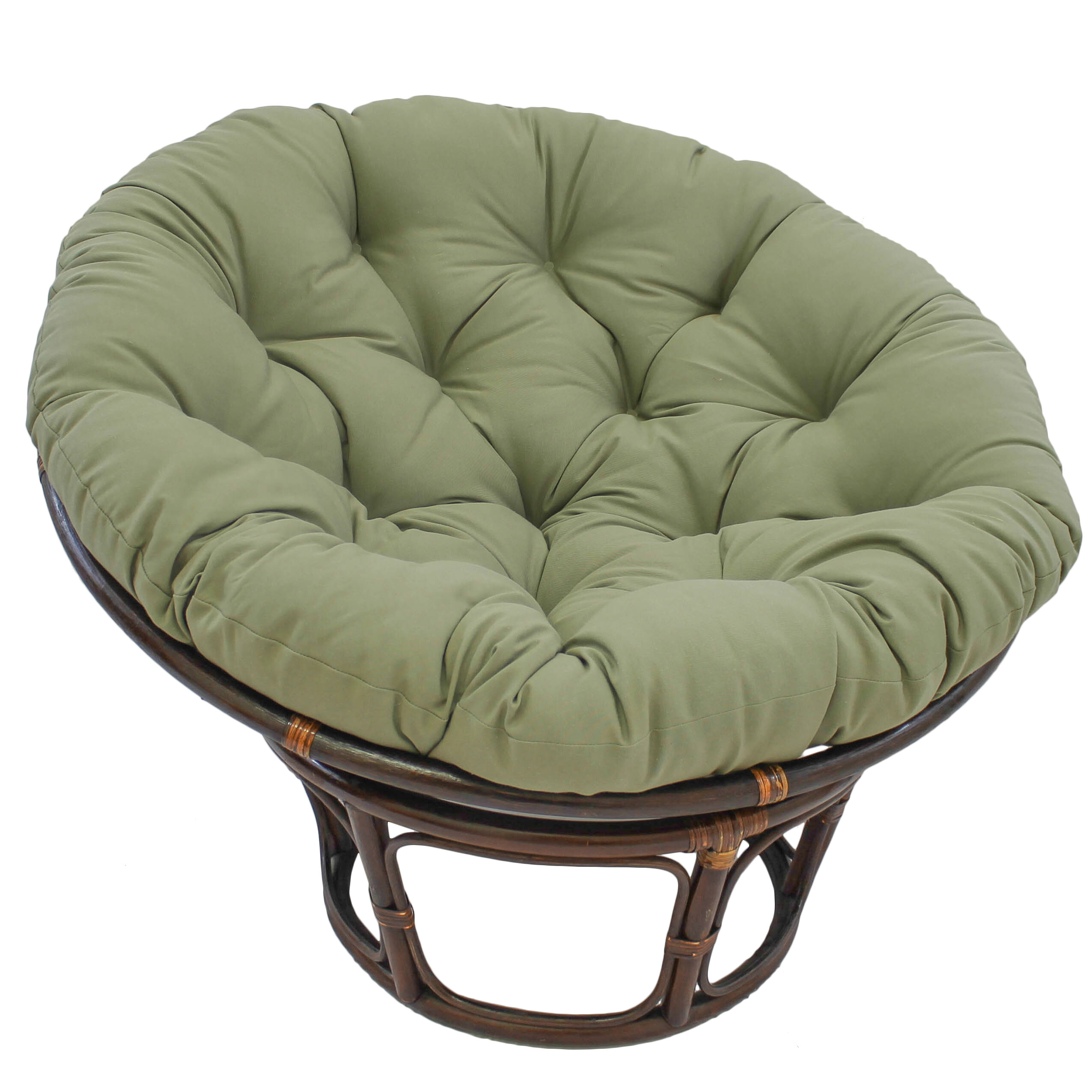 Exceptionnel Papasan Indoor Lounge Chair Cushion