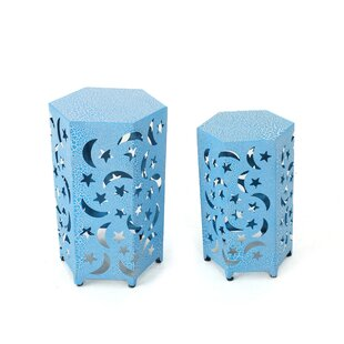 Jayakumar 2 Piece Nesting Table Set by Ebern Designs