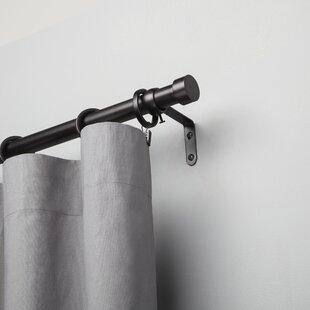 Ceiling Mount Curtain Rod | Wayfair
