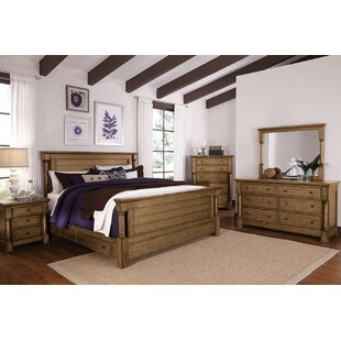 Burndale Panel Configurable Bedroom Set by Loon Peak