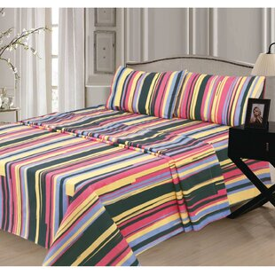 Alline 300 Thread Count 100% Cotton Sheet Set by Ebern Designs Coupon