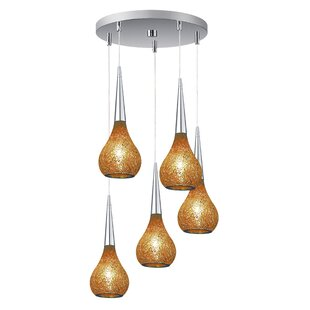 Torine 5-Light Mini Pendant Cluster by Woodbridge Lighting
