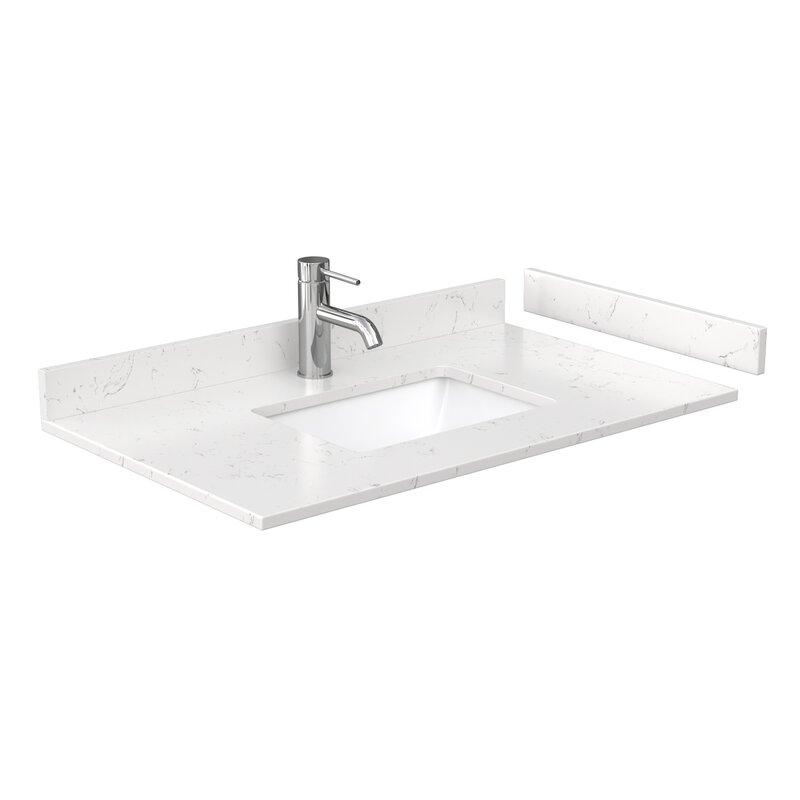 Wyndham Collection 36 Single Bathroom Vanity Top With Sink Wayfair