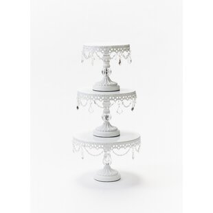 3 Piece Cake Stand Set Wayfair