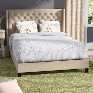 Buy luxury Borchers Upholstered Panel Bed by Three Posts Reviews (2019) & Buyer's Guide