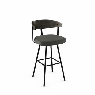 Amir 39.5 Swivel Bar Stool Foundry Select