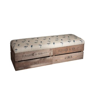 Causey Upholstered Storage Bedroom Bench By Union Rustic