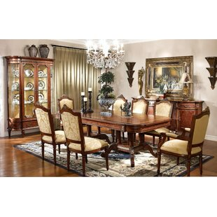 Astoria Grand Radel Solid Wood Dining Table