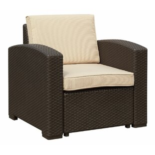 Ilka Arm Chair with Cushions by Longshore Tides