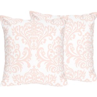 Amelia Cotton Throw Pillow (Set of 2)