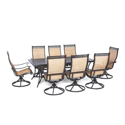 Barras 9 Piece Dining Set by Darby Home Co