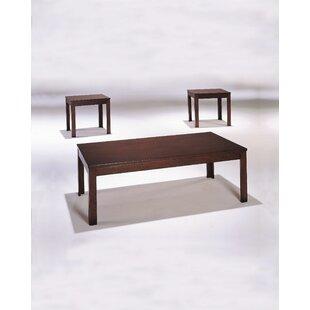 Winston Porter Tryphena 3 Piece Coffee Table Set