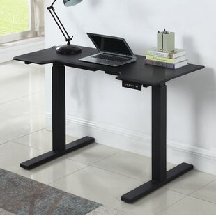 Uman Sit-Stand 9.5 H x 51.25 W Desk with Memory
