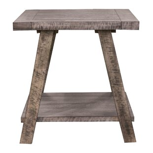 Asbury End Table by Gracie Oaks