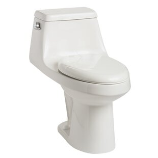 Mansfield Plumbing Products Aegean 1.28 GPF Elongated One-Piece Toilet