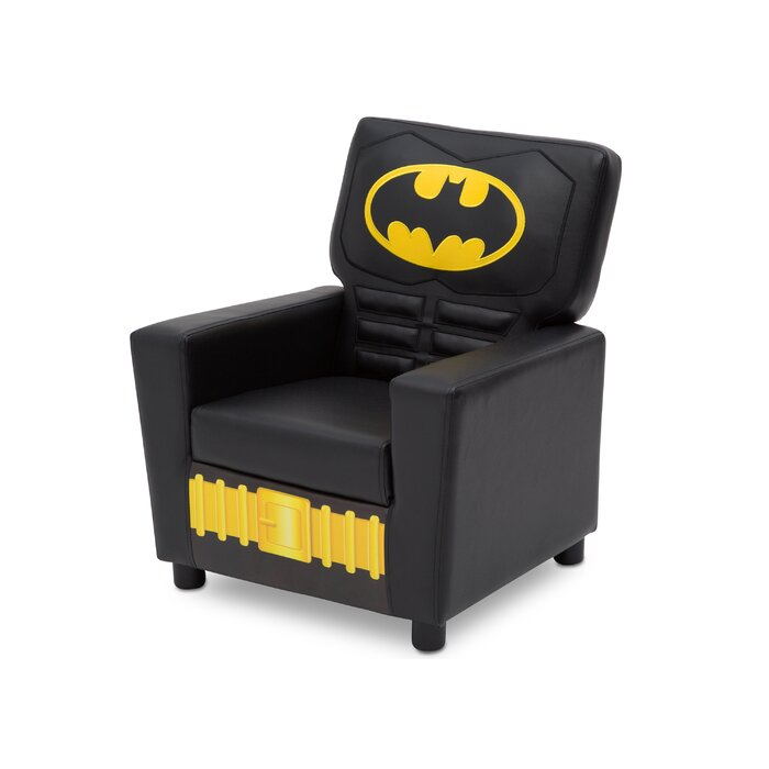 Outstanding Batman Dc Comics Kids Faux Leather Chair Machost Co Dining Chair Design Ideas Machostcouk