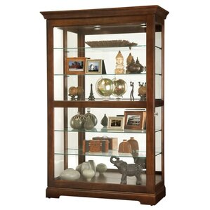 Kane Lighted Curio Cabinet by Howard Miller®
