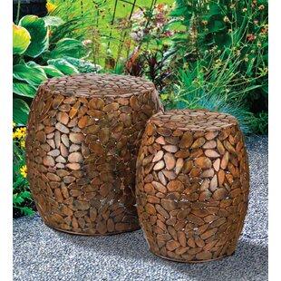 Regal Art & Gift 2 Piece Garden Stool Set