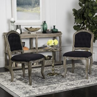 Tondreau Upholstered Dining Chair (Set of 2) One Allium Way